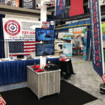 Time on Target Security's Trade Show Booth & Display
